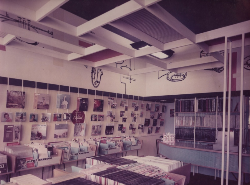 NAAFI Record Dept. Fontainebleau 1958