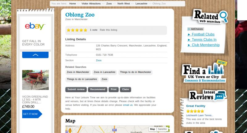 Oblong Zoo